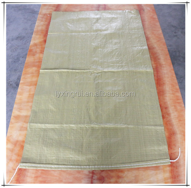 recycle 50kg pp woven bag of construction garbage