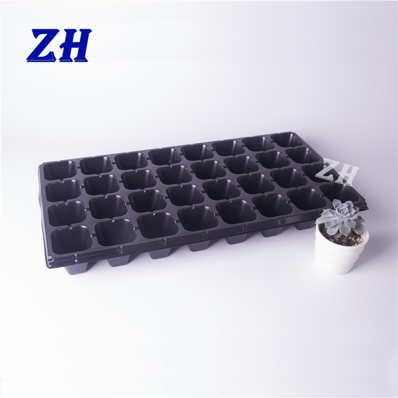 32 cell recyclable plastic plant seed growing germination tray