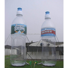 Advertising inflatable bottle balloon, giant inflatable water bottle replicas for sale K3033-2