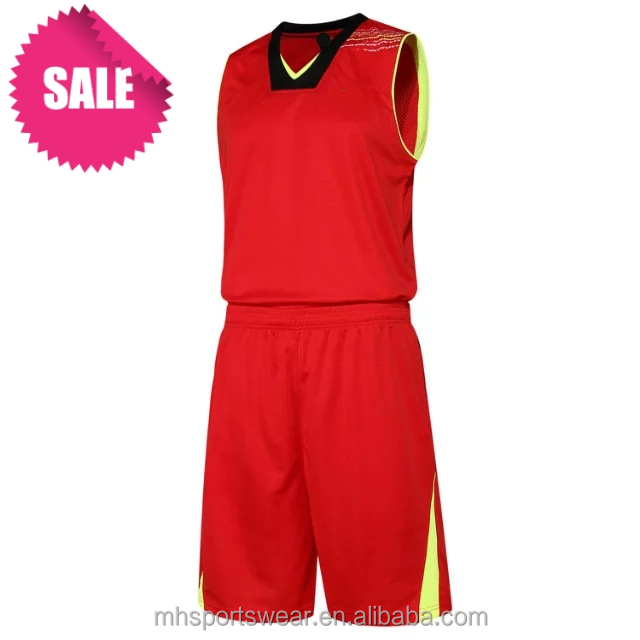 wholesale unique new style korea basketball jersey