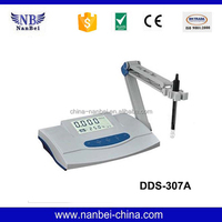 Electrochemical water quality testing conductivity meter
