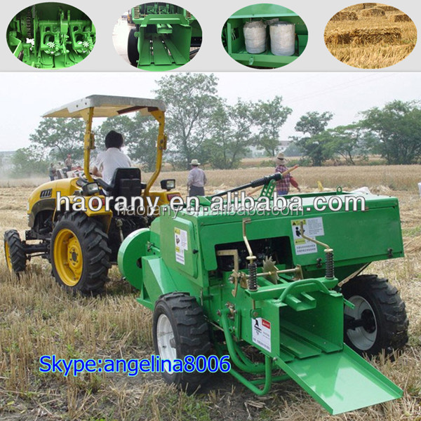 Hot sale mini square hay baler in agriculture