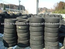 used and recapped truck tires from Japan