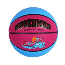 small rubber mini baby basketball set size 5