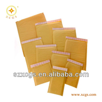 Reasonable and durable Kraft bubble Mailer,Postal mailing bag,Shockproof kraft bubble mailer for DVD ,CD,etc.
