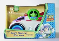 Toy Story Alien Soft Space Racer Car Action Figure