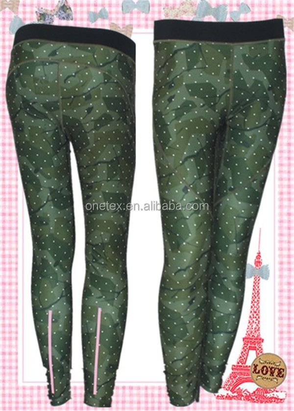 2016Latest Design Pulse Tights Ladies' Yoga Dotted Pants wholesale dry fit