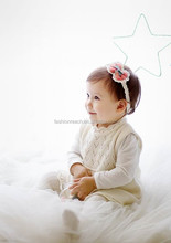 baby headband with the bow cute head wrap for kids elastic headband hair accessories for girls