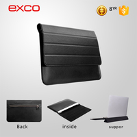 "China manufacture EXCO casual style PU blank leather custom mac 15.6"" laptop hard case"