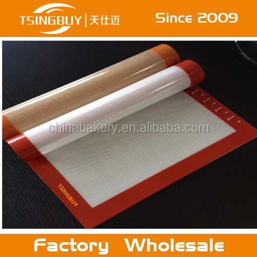 Baking & Pastry Tools heat resistant Non-Stick Silicone Healthy Chef Baking Mat