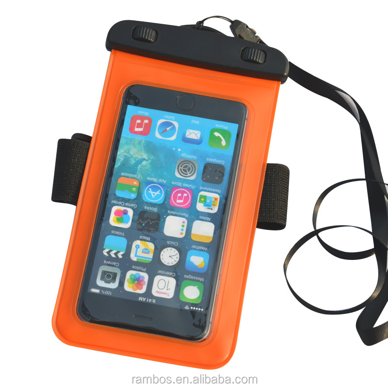 Underwater Case Protective Mobile Phone Waterproof Dry Bag Pouch for iPhone 4 5 6 7