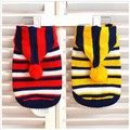 New arrival sweater for dog, stripe knitted pet sweater, fashion dog clothes