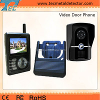 IP55 Waterproof Outdoor Unit Camera Wireless Video Door Phone Doorbell Intercom with Multi Functions TEC3424P