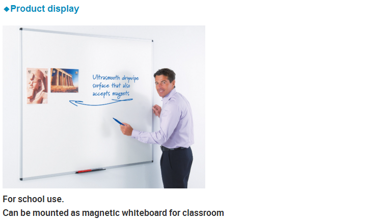 Colorful Erasable Wall Sticker White Board, Whiteboard Type Rubber Magnet