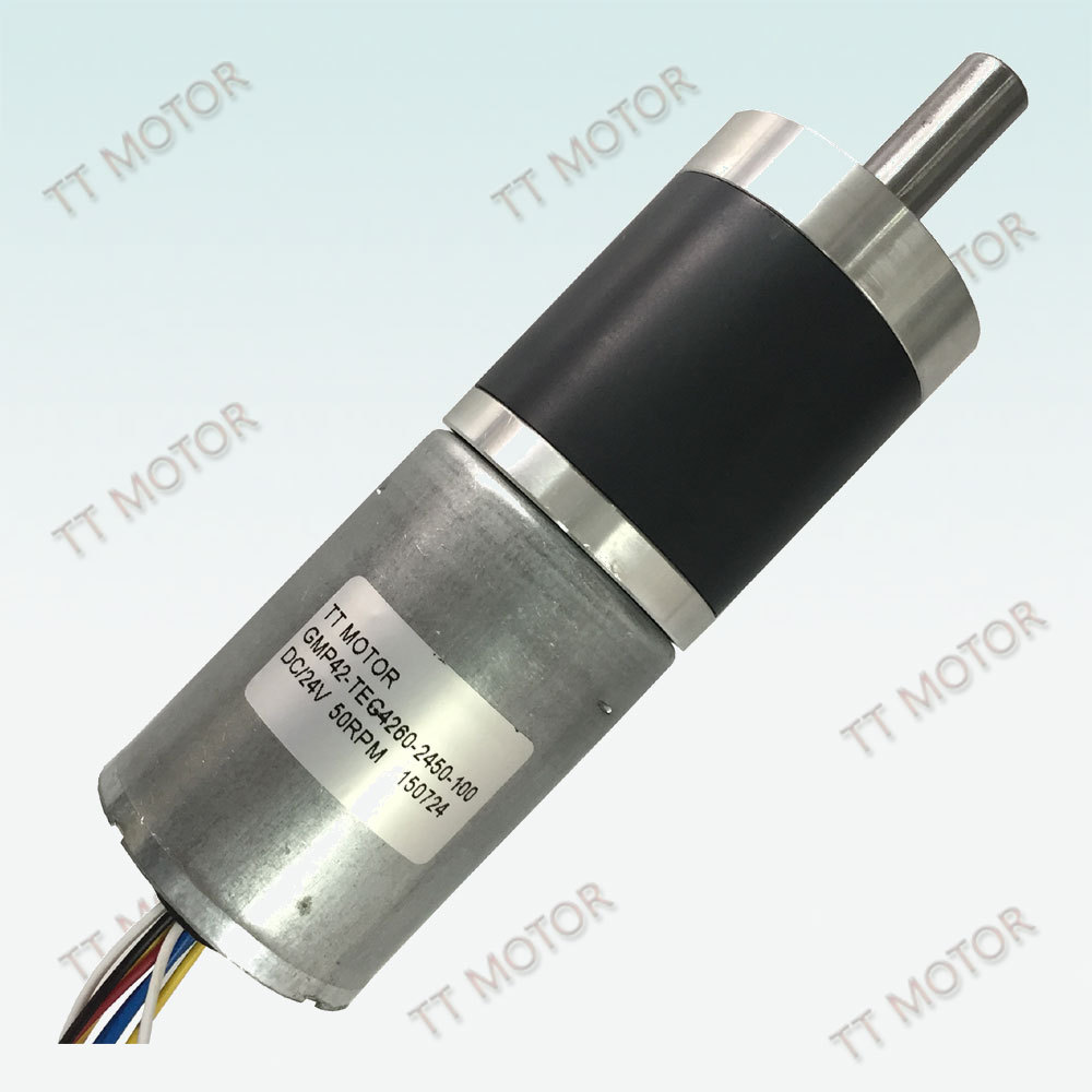 GMP42-TEC4260 dc brushless motor with gearbox 24v brushless motor