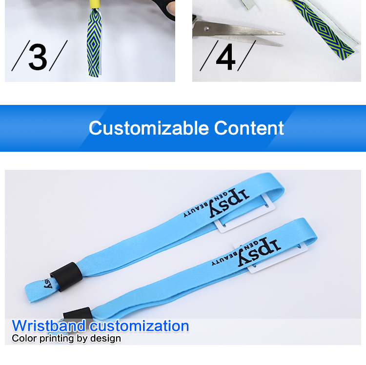 Promotion Price 860mhz Water Park RFID Bracelet Child Tag