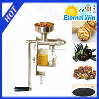 Small stainless steel manual oil press machine hand operate oil expeller