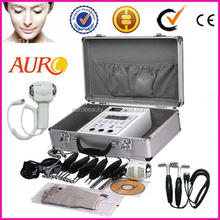 Boxy skin lifting machine with BIO Magic Gloves Au-2011BIO electrodes hot cold hammer