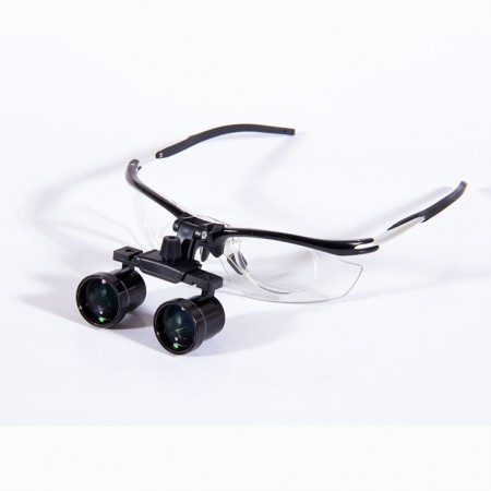 NEW 100 mm to 50 mm Dental Aluminium Magnifier Loupes Surgical 2.5X to 3.5X