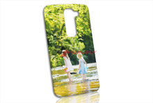 Wholesale New 3D Sublimation Blank Gloss custom phone case for LG G2 Mini