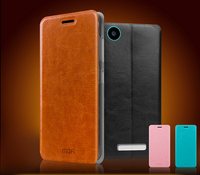 MOFi Case Cover for ZTE Q302C, Smartphone Leather Back Cover for ZTE Q302C