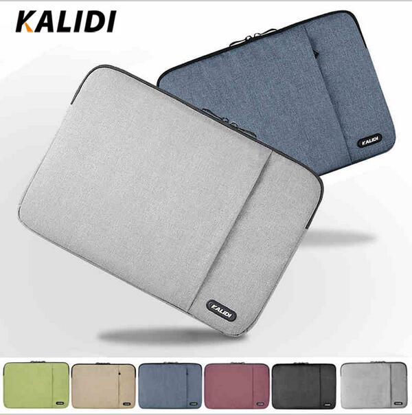 KALIDI Laptop Sleeve Bag Waterproof Notebook case For Macbook Air 11 13 Pro 13 15 Retina Ipan Mini 1 2 3 SURFACE Pro 12