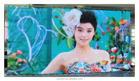 2015 xxx new images sexy video HD full color soft led curtain display