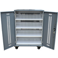 Apple ipad lockings storage cabinets for 68 laptops schools mobile charging station
