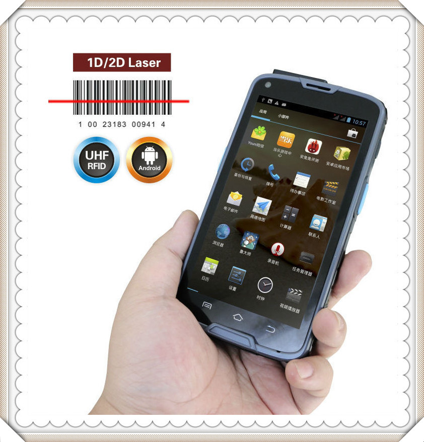 Chainway C6000 4G LTE Android Rugged Handheld Fingerprint Scanner cilico c5s