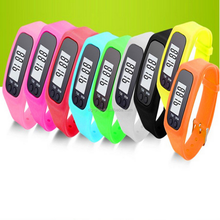 Fitness wrist bands calorie counter 3d wristband stopwatch pedometer