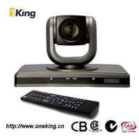Conference and meeting room wall mount High Definition video conference camera with remote control