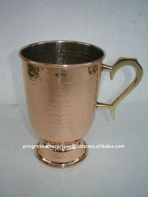 MANUFACTURER OF SOLID COPPER MUGS AND TANKARD FOR Tanqueray Sterling Vodka mixology