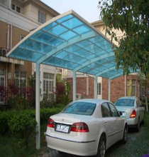 polycarbonate car porch car garage