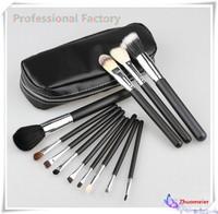 Brand Professional pincel maquiagem Makeup Brush 12 pcs Cosmetic Make Up brushes Set With Case Bag Kit