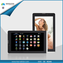 7 inch low cost 3g tablet pc phone Android 4.2,wcdma 2100 phones MTK8312Dual Core ,1G,8GB,1024*600pixel with CE Rohs