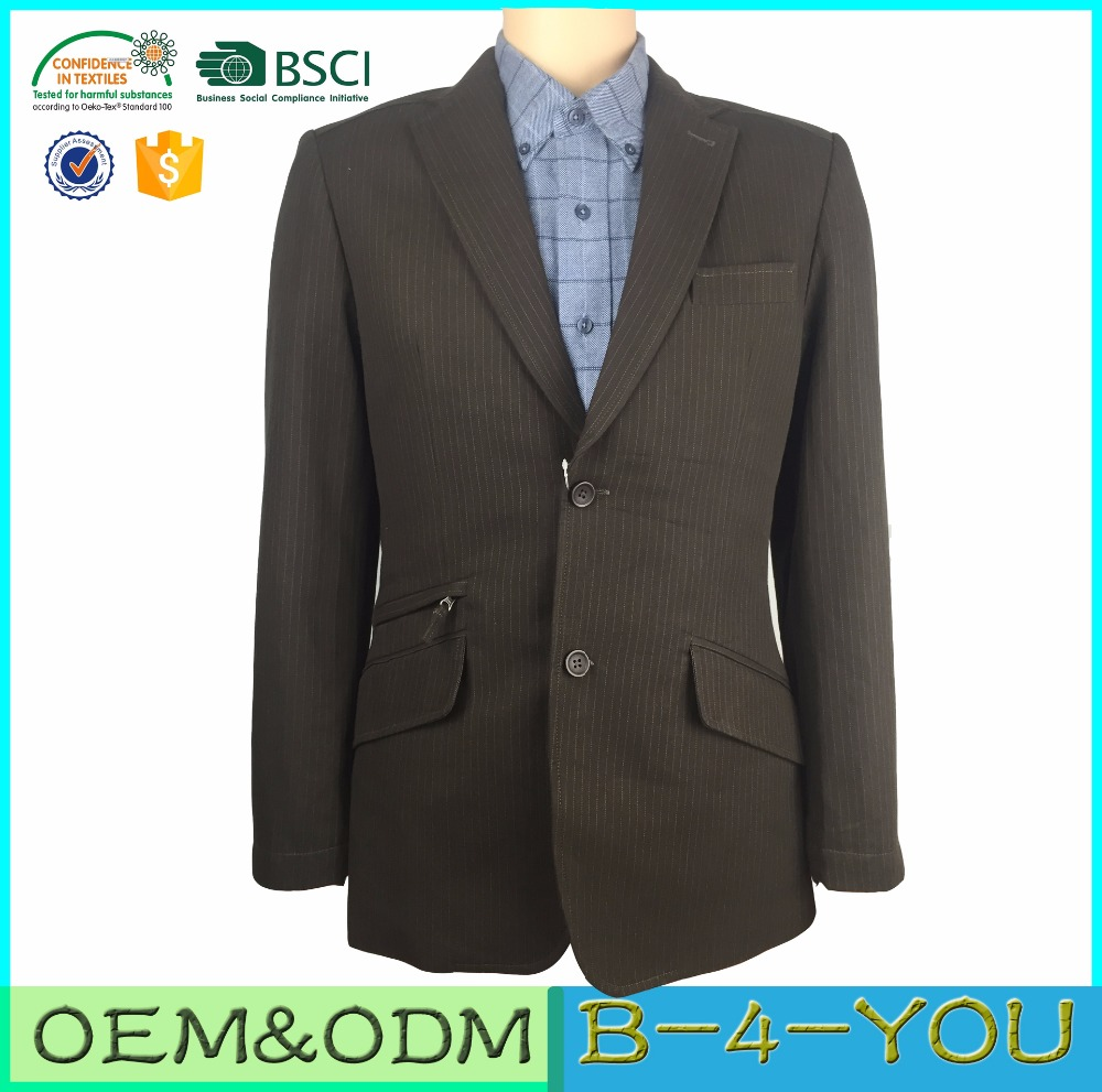 Tailor Custom Made Business Factory Mens Blazer Jacket Suit
