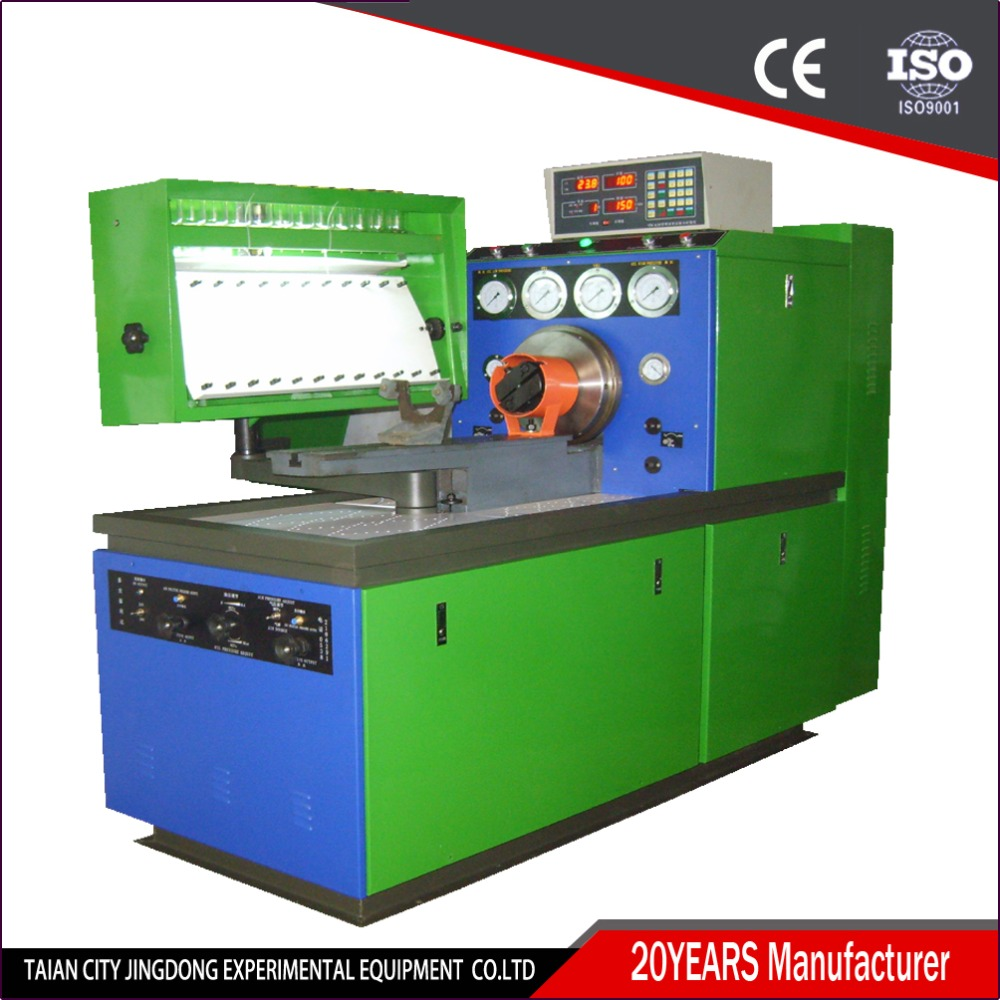 diesel fuel injection pump test bench with convenient operation