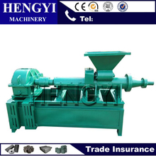 2017 Convenient Large coal stick coal rods screw press extruder briquette making machine