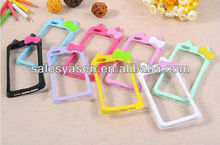 Soft TPU case for iPhone 5 Bumper Case