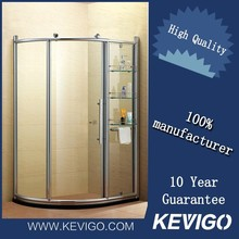 Aluminum Frame Design 10mm Air Shower Room For Hotel
