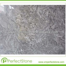 China King Flower grey marble slabs tile/cheap and good quality building stone