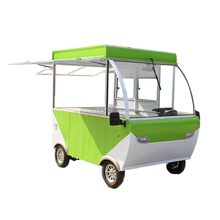 2017 Factory Price Mobile Restaurant Hamburgers Carts Food Cart For Sale