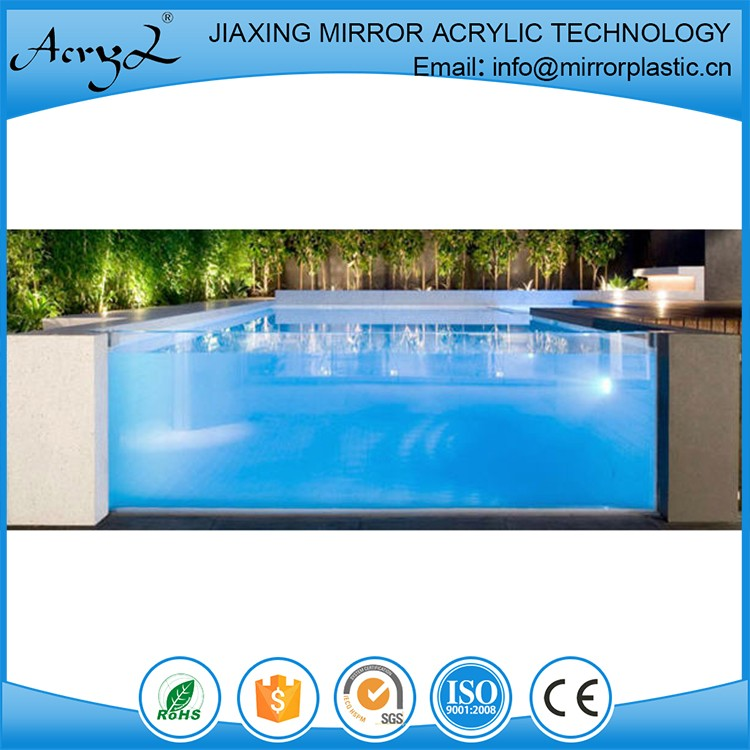 Good Service Acrylic Outdoor Swimming Pool