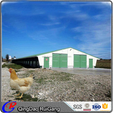 Hot selling in Nigeria steel structural poultry house brolier layer chicken shed