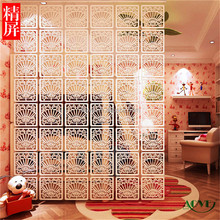 High quality PVC folding screen,cheap antique room divider /cardboard folding screen
