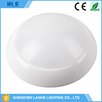 low profile round 15w 20w 25w 30w dimmable led motion sensor ceiling light
