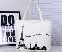 2016 High Quality fashion promotion canvas tote bag