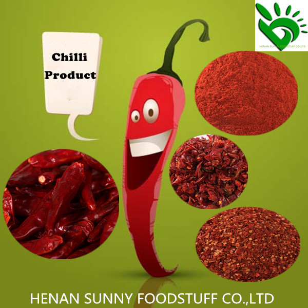 Factory Price of High Quality Dehydrated Red Chilli/Chilli Powder