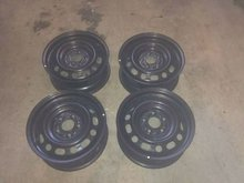 Used steel wheels / rims from Commercial or Passenger Cars.