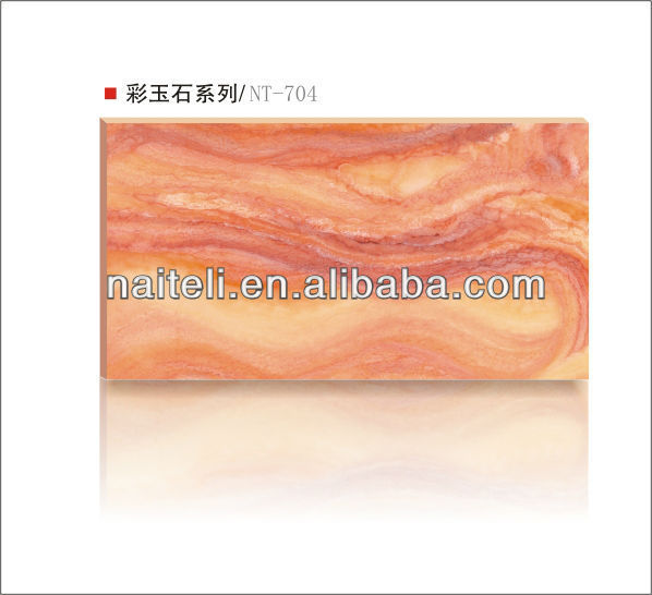 New Technology Translucent Artificial Resin Stone